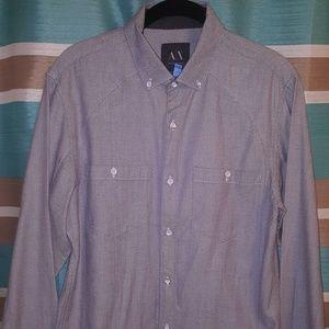 "Armani Exchange ""Elite"" shirt / Sz Med"